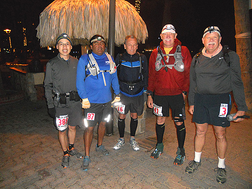 Midnight Avalon 50 Mile 2014 Starters