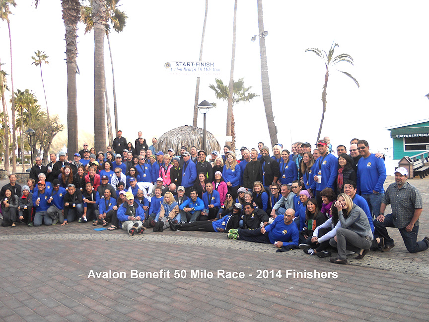 2014 Avalon 50 finishers