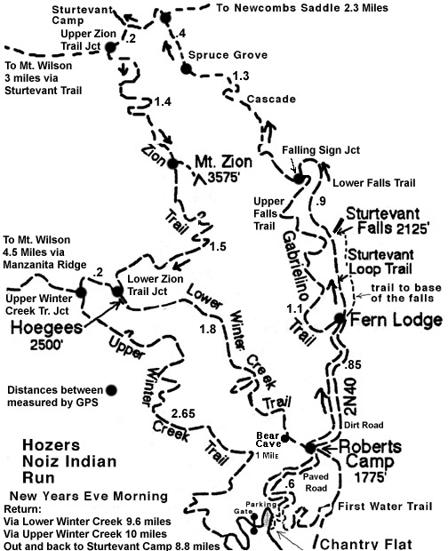 Image Result For Zion National Park Trails Map