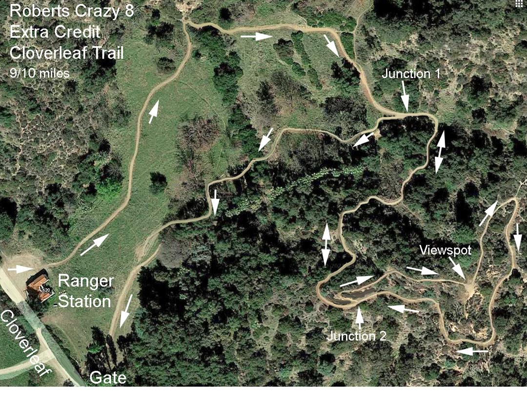 Cloverleaf Roberts Crazy 8 Trail