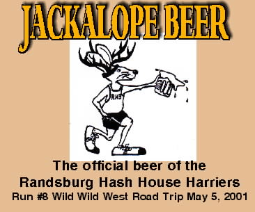Jackalope beer label