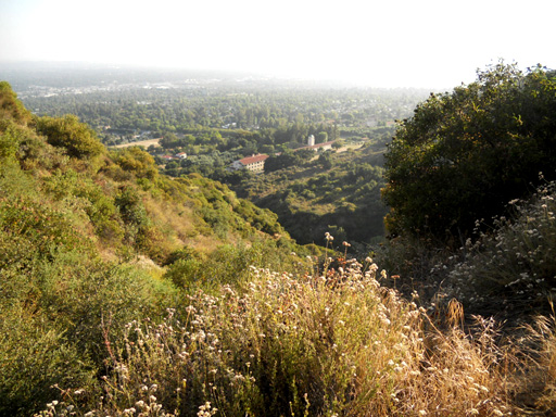 bailey canyon trail view